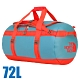 The North Face BASE CAMP DUFFEL 超大容量多功能側背包72L_復古藍/番茄紅 N product thumbnail 1