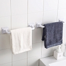 E-dot 免釘鑽毛巾無痕收納桿組(短款+長款)