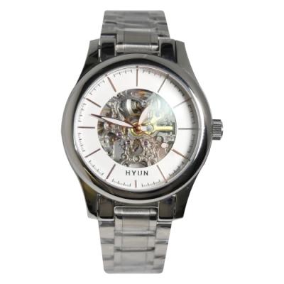 HYUN炫 簡約鏤空設計精品錶
