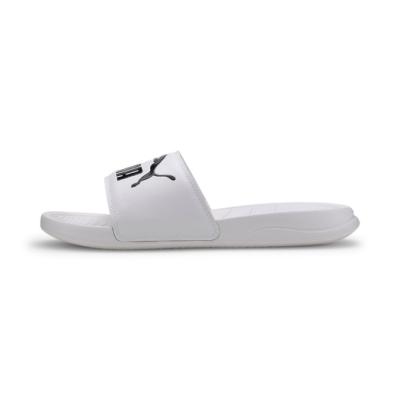 [限搶]PUMA-Popcat 20 男女拖鞋-白色