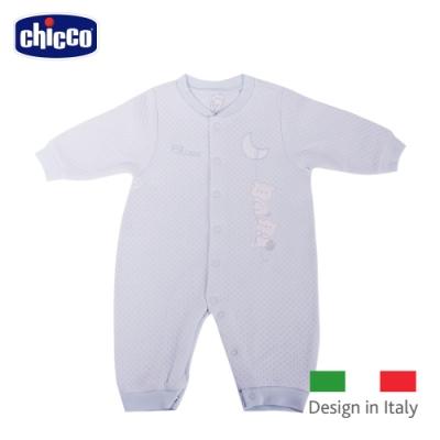 chicco- 菱點夾棉妙妙裝-藍