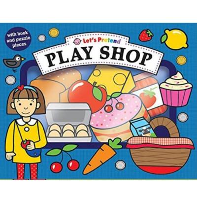 Let s Pretend:Play Shop 去逛街硬頁掀翻操作書(英國版)
