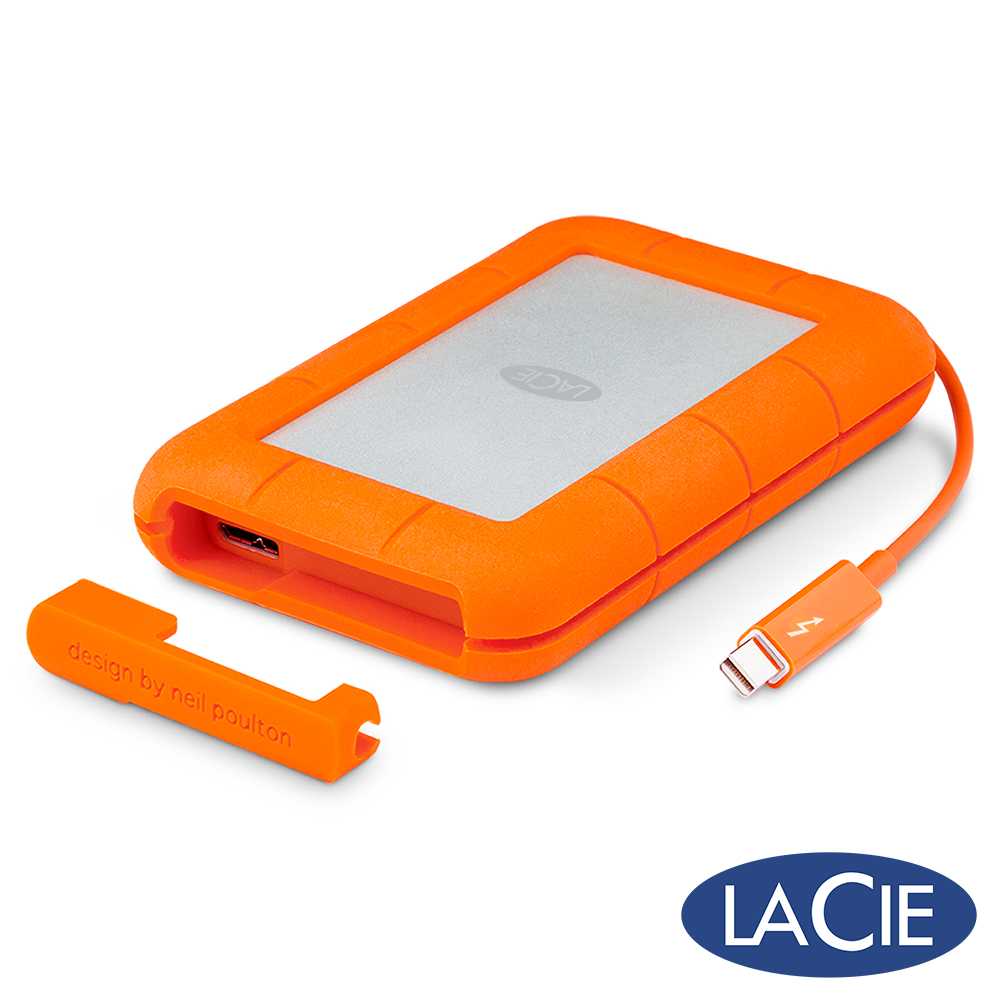 LaCie Rugged 2TB USB3.0/Thunderbolt 2.5吋行動硬碟