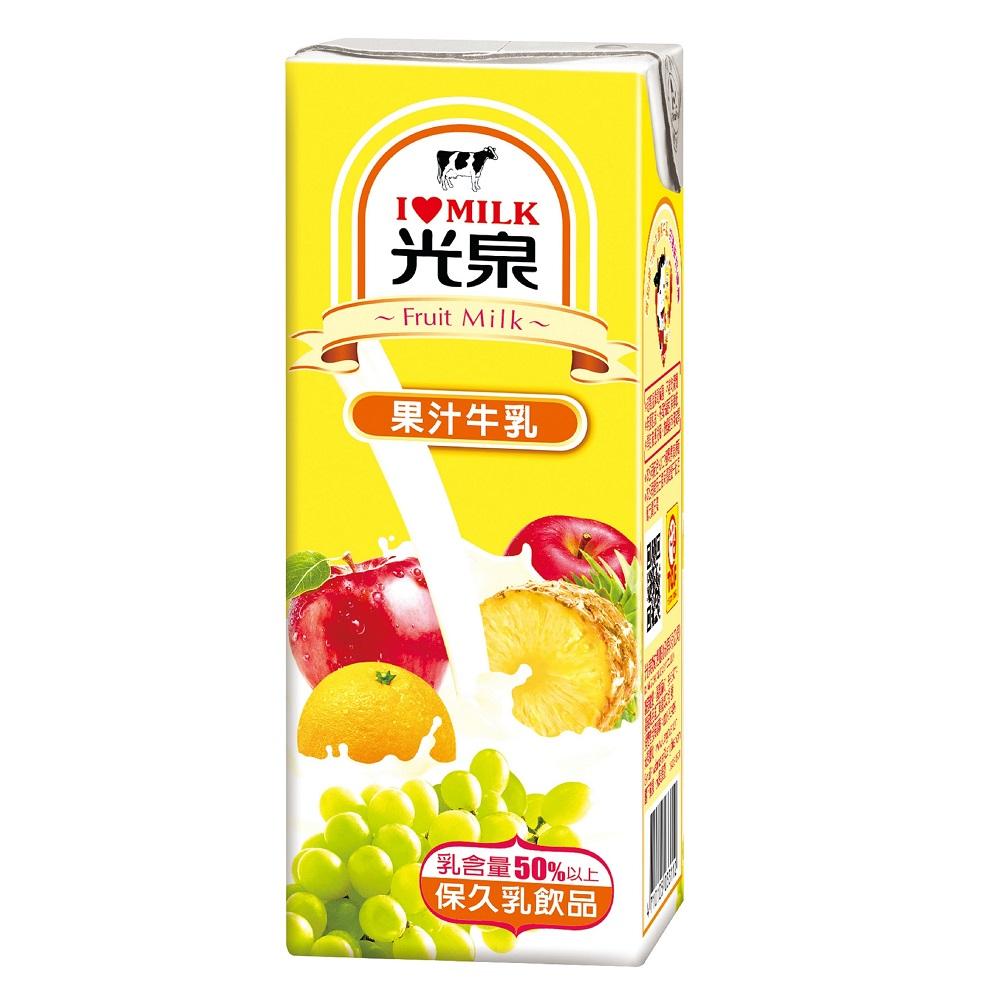 光泉 果汁牛乳(200mlx24入) @ Y!購物