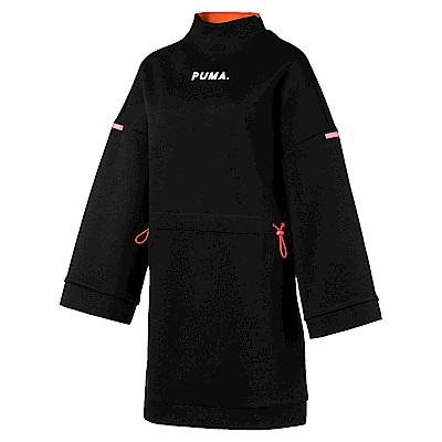 PUMA-女性流行系列Chase連身裙-黑色-亞規
