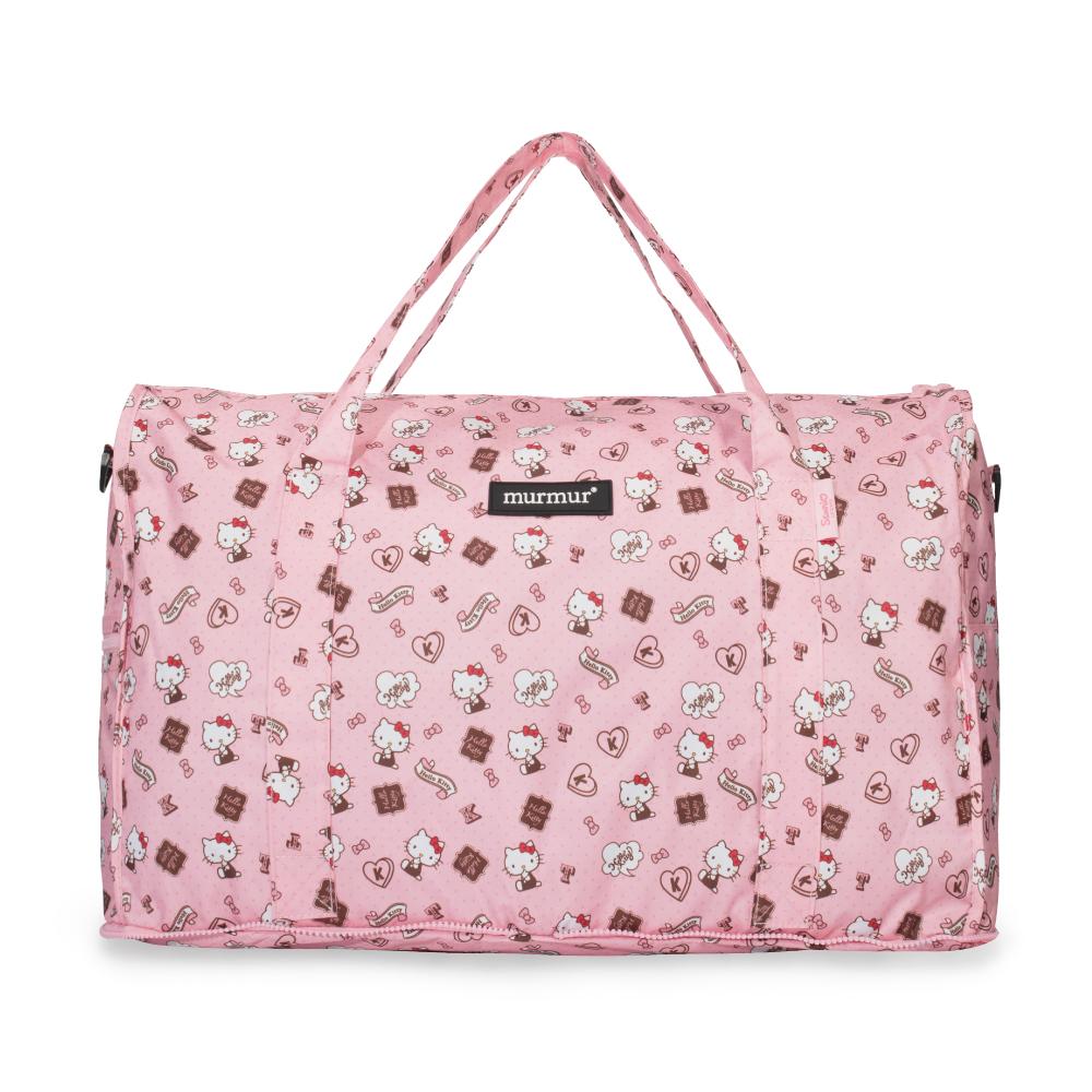 murmur收納旅行袋HELLOKITTY 配件粉紅(大)