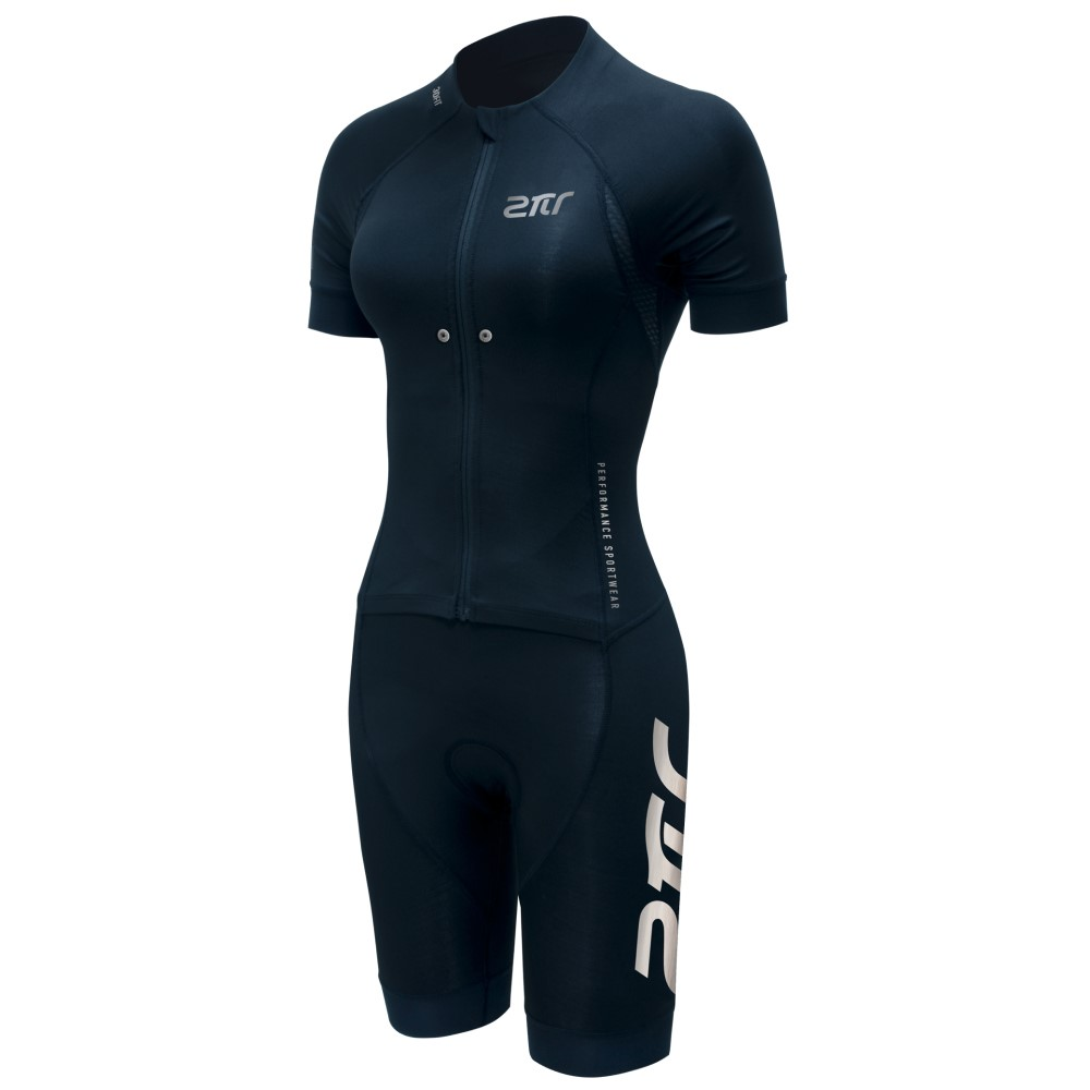 【2PIR】女款智能感測高效能勁速三鐵衣