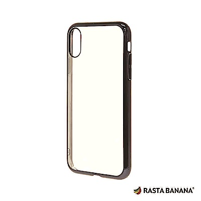 RASTA BANANA iPhone X/XS 輕量柔韌電鍍保護套