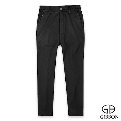 GIBBON 保暖蓄熱刷毛彈性鬆緊長褲-二色