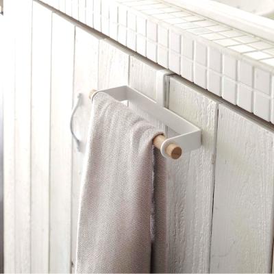 YAMAZAKI tosca門板毛巾架★衛浴收納/毛巾掛架/抹布架