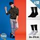 Footer除臭襪--素色美學氣墊防磨船短襪加大款六雙入(黑*3+白*3) product thumbnail 1