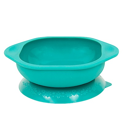 【MARCUS&MARCUS】動物樂園矽膠防漏幼兒學習吸盤碗-大象(綠)
