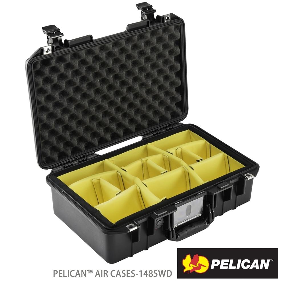 美國 PELICAN 1485AirWD 超輕氣密箱-含隔板(黑)