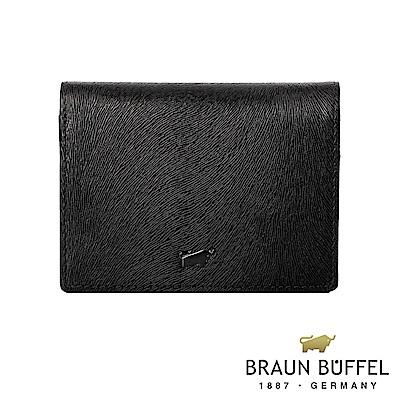 BRAUN BUFFEL - 奧菲莉亞V系列5卡名片夾 - 深邃黑