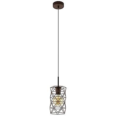 EGLO歐風燈飾 文青金造型吊燈(不含燈泡)