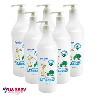 優生奶瓶西柚香氛清潔劑500mlX6入組