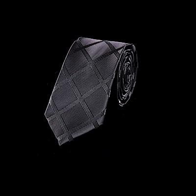 拉福  領帶中窄版領帶6cm領帶拉鍊領帶(兒童交叉)