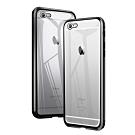 iPhone 6/6S Plus 360度全包 磁吸雙面鋼化玻璃 手機殼