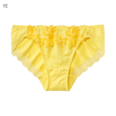 aimerfeel Eleanore蕾絲內褲-黃色-709921-YE