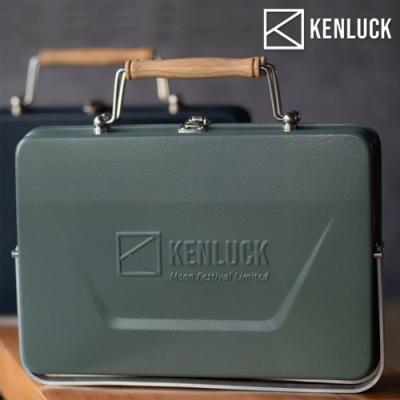 KENLUCK Grill 攜帶型烤肉架【灰綠】