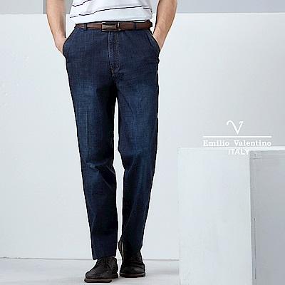 Emilio Valentino商務都會休閒牛仔褲_藍(30-9A2502)