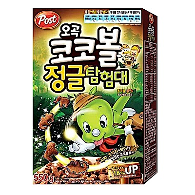 韓國Post 恐龍造型巧克力玉米片(300g)