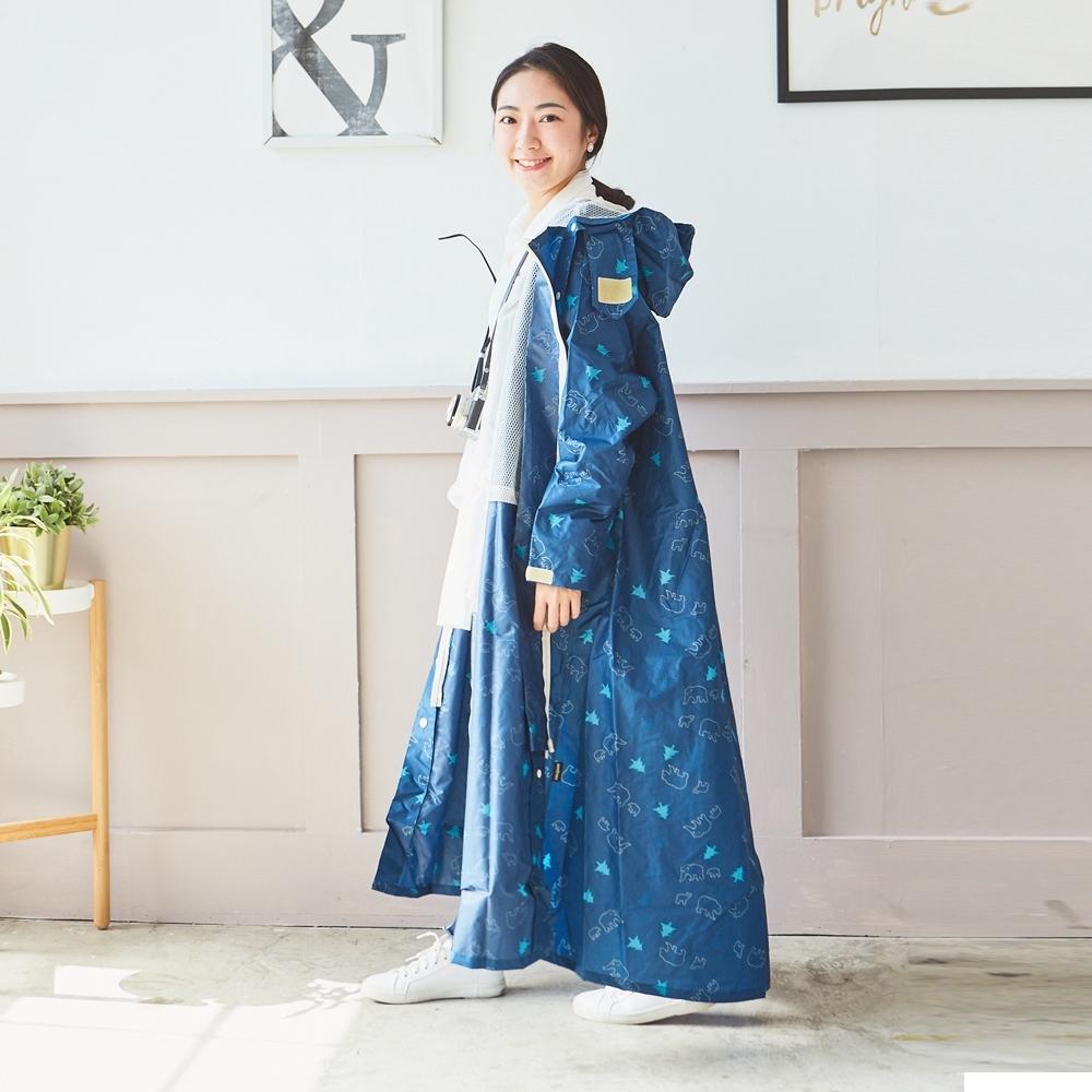 RAINSTORY沁涼北極連身雨衣(M號)