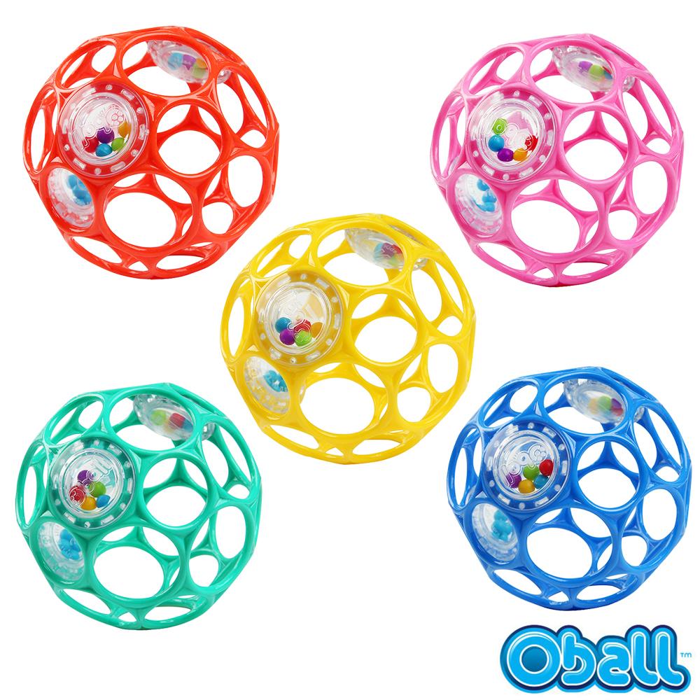 Kids II-OBALL 4吋沙沙洞動球 顏色隨機出貨