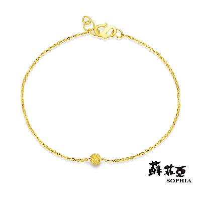 蘇菲亞SOPHIA - G LOVER系列流砂黃金手鍊