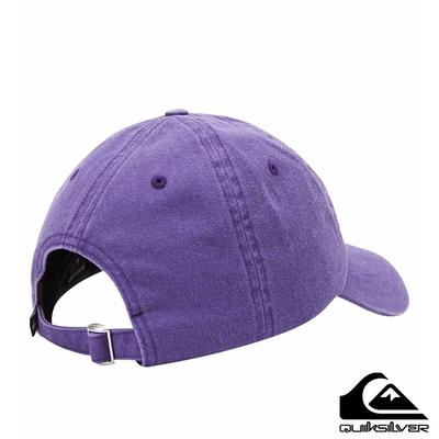 【QUIKSILVER】RAD SPLATTER 帽 紫色
