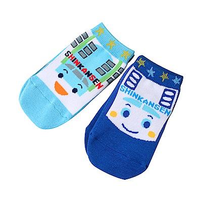 新幹線兒童直版船型襪(2雙一組) k51208 魔法Baby