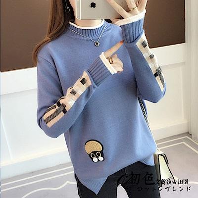 純色針織毛衣-共4色(F可選)   初色