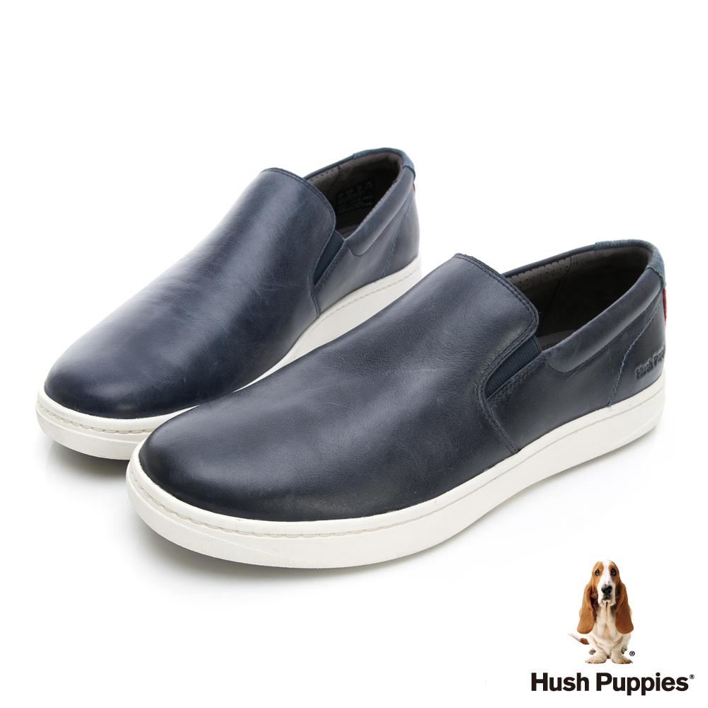 Hush Puppies Bounce 超彈力便鞋-深藍