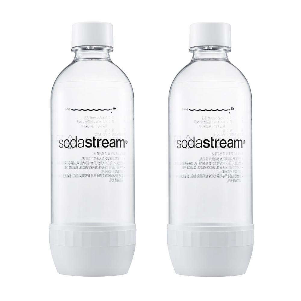 Sodastream寶特瓶1L 2入(白)