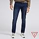 GUESS-男裝-原色修身直筒牛仔褲-藍 原價2990 product thumbnail 1