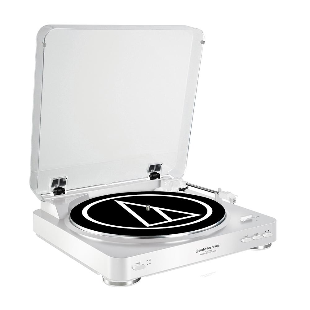 鐵三角 AT-LP60 WH 白色 獨家限定版 全自動黑膠唱盤