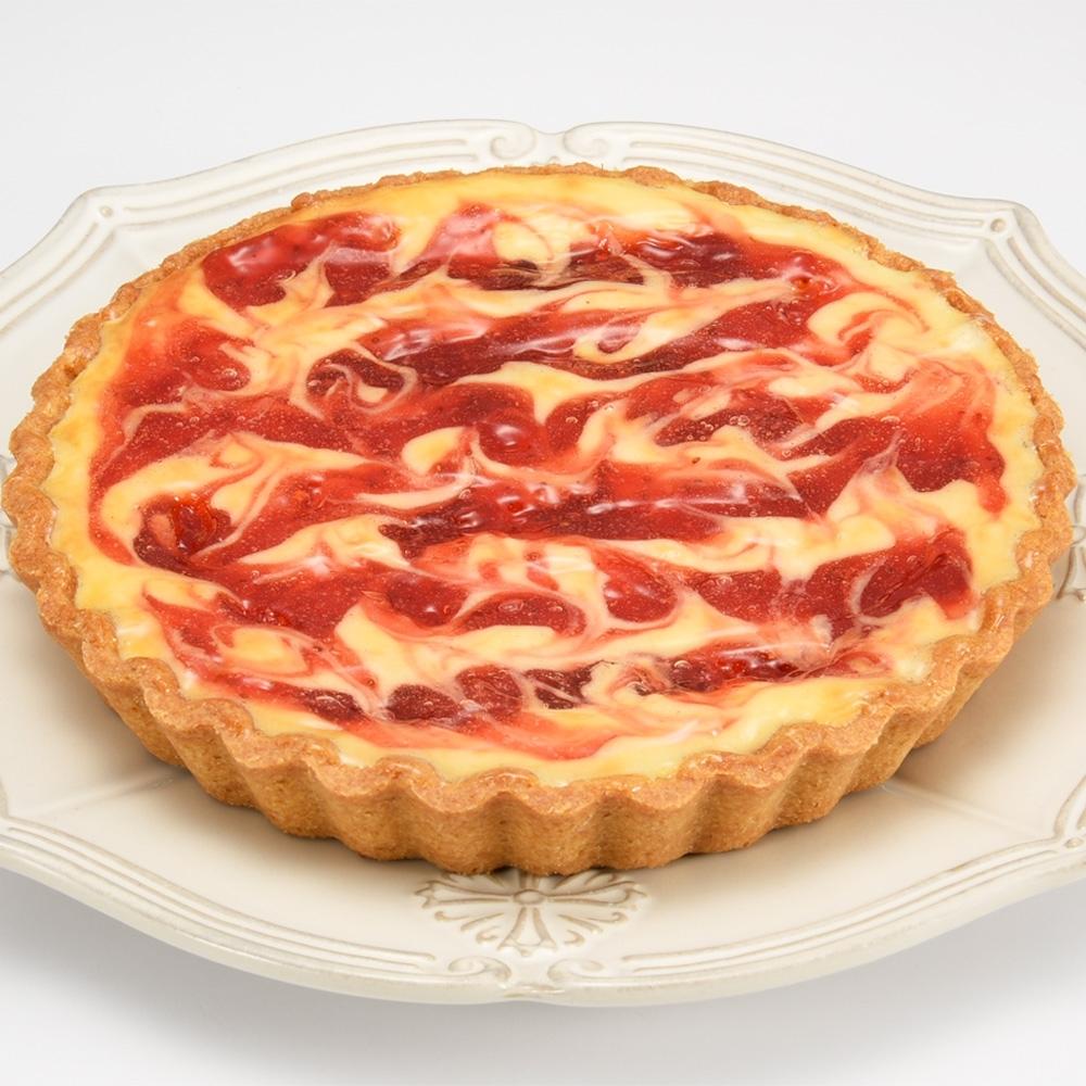 (滿10件)亞尼克派塔 草莓起司派6吋