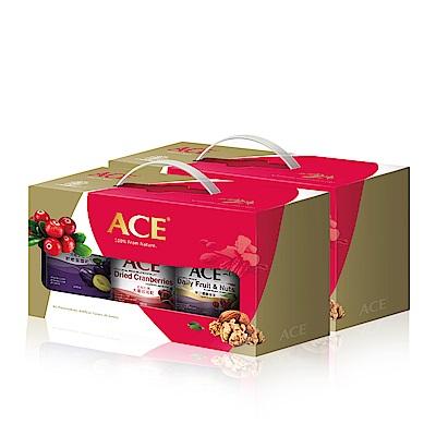 ACE-中秋限定果乾堅果禮盒3罐組-軟嫩蜜棗乾-大