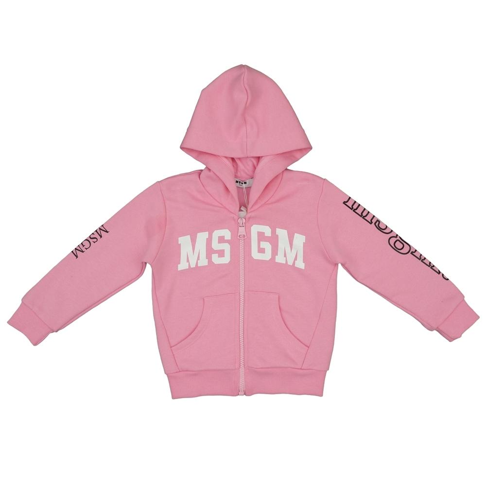 MSGM Baby粉色Logo外套(童)