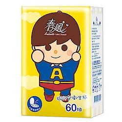 春風旅行包抽取衛生紙-小超人60抽x3包/串