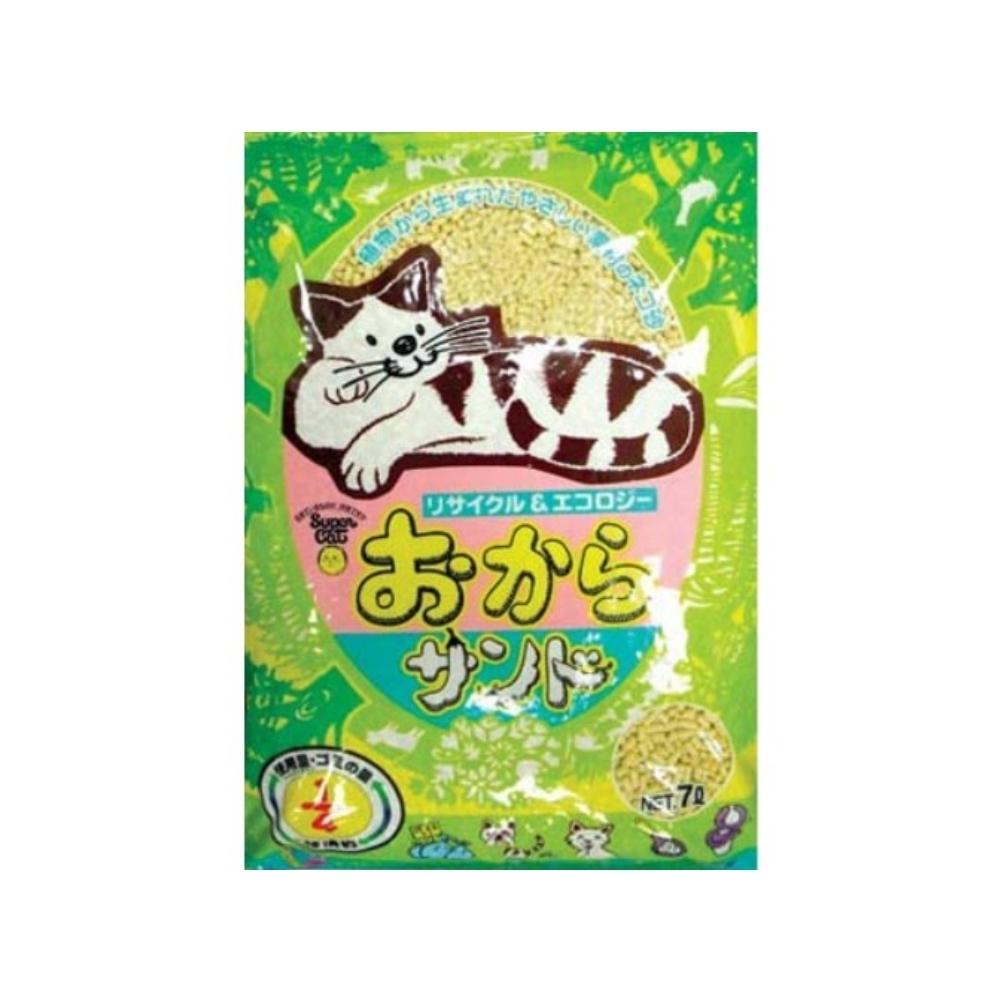 日本Super cat韋民超級貓環保豆腐除臭貓砂 7L