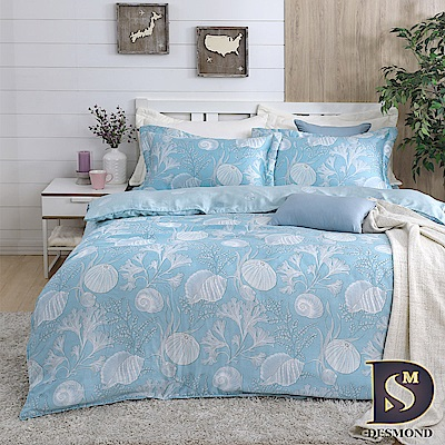 DESMOND 加大100%天絲全鋪棉床包兩用被四件組/加高款冬包 冒險精靈