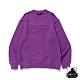 XLARGE PADDING STANDARD LOGO CREW NECK大學T-紫 product thumbnail 1