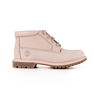 Timberland 女款淡粉紅色絨面Nellie靴   A1S7SN97