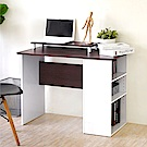 《HOPMA》DIY巧收簡約書桌(附螢幕主機架)-寬90 x深48 x高72cm
