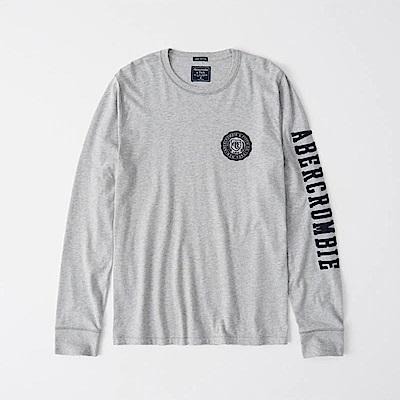 AF a&f Abercrombie & Fitch 長袖 T恤 灰色 1116