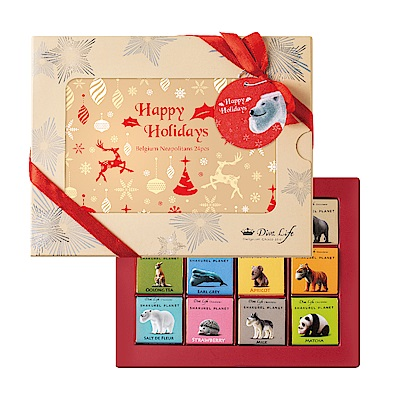 Diva Life 比利時純巧克力片 聖誕相框禮盒