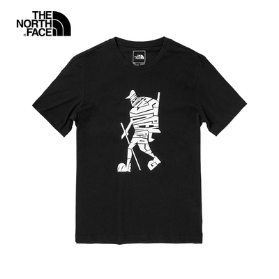 The North Face M S/S HIKE ON TEE  男 短袖上衣 黑-NF0A4U9HJK3