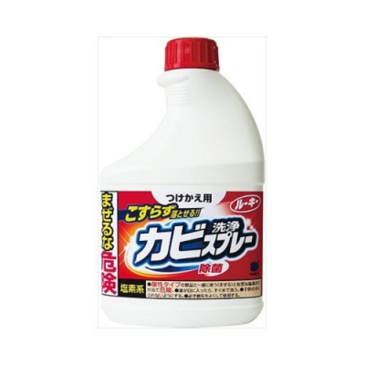日本【第一石鹼】浴室除霉噴霧 補充瓶400ml