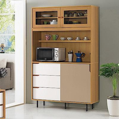 H&D 柯瑪4尺餐櫃
